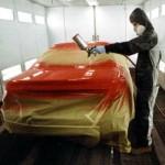 Proceso general de pintado del automóvil